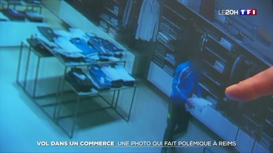 Vol à l'étalage à Reims : la photo non floutée d'un voleur diffusée par le commerçant