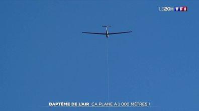 Vol en planeur au-dessus des Alpes