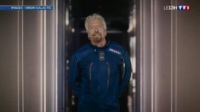 Vol spatial : le pari de Richard Branson