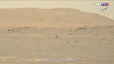 Vol sur Mars : l'exploit d'Ingenuity