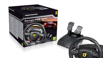 Idée Cadeau N°9 : un volant Ferrari 458 Italia pour Xbox