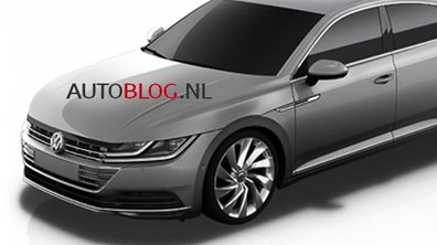 Scoop : la Volkswagen CC 2017 en fuite sur le net