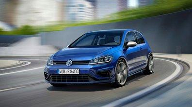 Photos, puissance, performances : Volkswagen présente les Golf R et Golf R SW 2017 !
