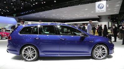 La Volkswagen Golf R SW au Salon de Genève 2015