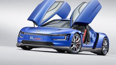 Volkswagen XL Sport Concept 2014 : un coeur Ducati dans une 4 roues atypique !