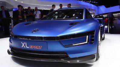Volkswagen XL Sport Concept, pas seulement une sportive -   Mondial de l'Automobile 2014
