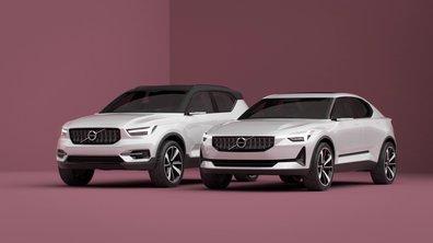 Volvo 40.1 et 40.2 Concept 2016 en présentation officielle