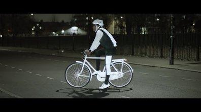 Volvo Lifepaint : le spray réfléchissant pour cyclistes