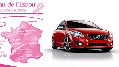 Volvo s'associe au ruban de l'espoir