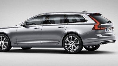Volvo V90 2016 : premières photos officielles en fuite