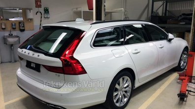 Scoop : Le break Volvo V90 2016 surpris en photos