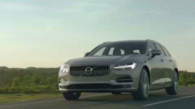 Le break Volvo V90 se dévoile en vidéo