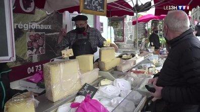 Le marché de Besse représente l'Auvergne