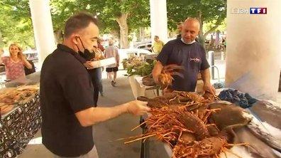 Votre plus beau marché : l'Île-Rousse représente la Corse