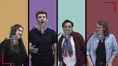 La Vox des talents :  Happy Ending | Mika |  Guillaume, Casanova, Frédéric Longbois, Sherley Paredes