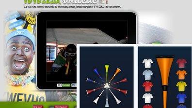 Insolite : la Vuvuzela sur le net et ton IPhone