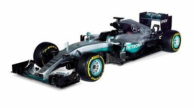 F1 2016 : voici la W07 Hybrid de Mercedes