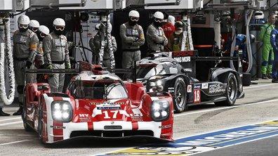 24 h du Mans 2015 : Porsche mène après une heure de course