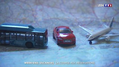 Week-end et vacances : la course aux réservations est lancée