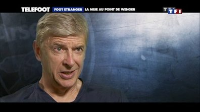 Arsenal : la mise au point de Wenger