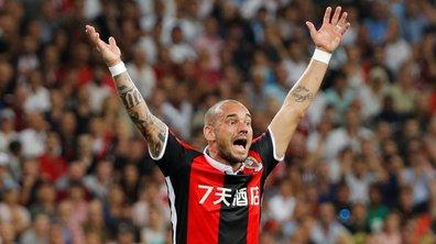 Wesley Sneijder ne comprend pas pourquoi Nice l'a recruté