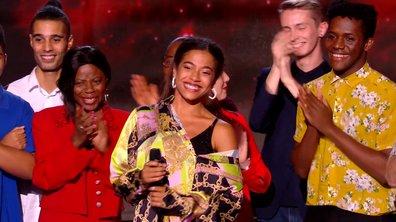 Pour Whitney, c'est tout un village sur le plateau de The Voice 8 ! 😊