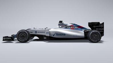 F1 2015: Premières photos officielles de la WilliamsFW37