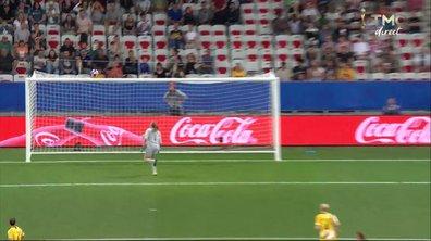 Norvège - Australie (1 - 1) : Voir la frappe sur la transversale de Risa en vidéo