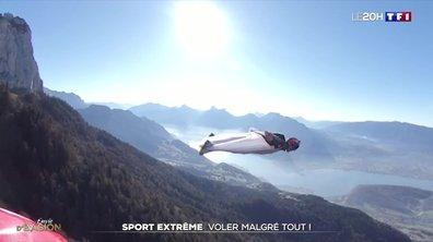 Wingsuit : Fred Fugen veut continuer à voler malgré la mort de son alter ego