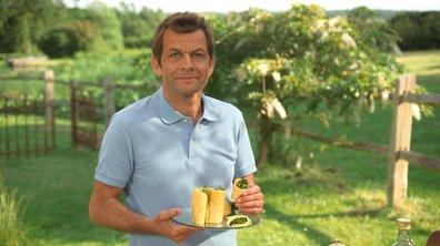 Wrap  mimolette épinards