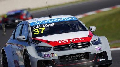 WTCC 2014 - Slovaquie : Lopez signe la pole position