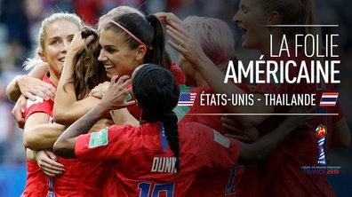 USA - Thaïlande : Les 13 buts des Etats-Unis en 1 minute !