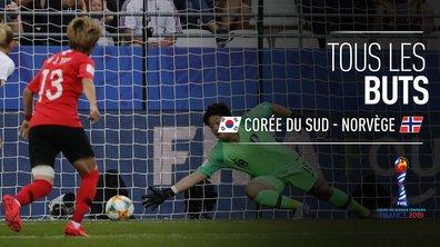 Corée du Sud - Norvège : Voir tous les buts du match en vidéo