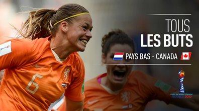 Pays-Bas - Canada : Voir tous les buts du match en vidéo