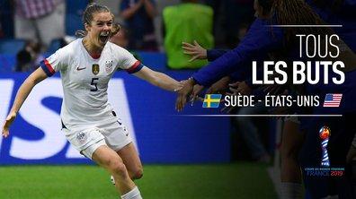 Suède - USA : Voir tous les buts du match en vidéo