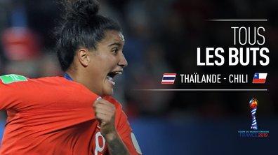 Thaïlande - Chili : Voir tous les buts du match en vidéo