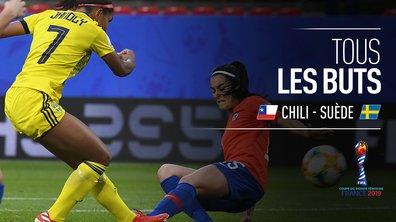 Chili - Suède : Voir tous les buts du match en vidéo