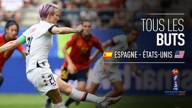 Espagne - Etats-Unis : Voir tous les buts du match en vidéo