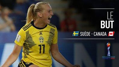 Suède - Canada (1 -0) : Voir le but de Blackstenius en vidéo