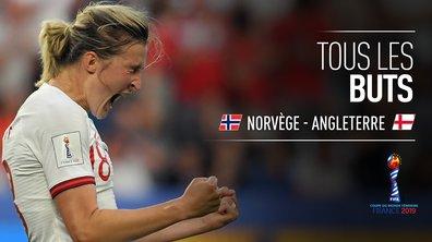 Norvège - Angleterre : Voir tous les buts du match en vidéo