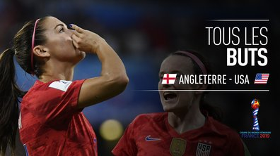 Angleterre - USA : Voir tous les buts du match en vidéo