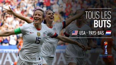USA - Pays-Bas : Voir tous les buts du match en vidéo