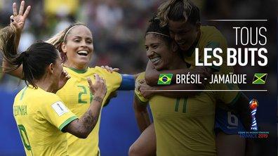 Brésil - Jamaïque : Voir tous les buts du match en vidéo