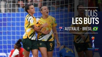 Australie - Brésil : Voir tous les buts du match en vidéo