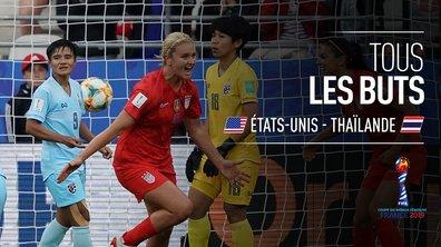 USA - Thaïlande : Voir tous les buts du match en vidéo