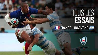 France - Argentine : Voir tous les essais du match en vidéo