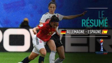 Allemagne - Espagne : Voir le résumé du match en vidéo