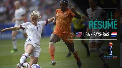 USA - Pays-Bas : Voir le résumé du match en vidéo
