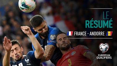 France - Andorre : Voir le résumé du match en vidéo