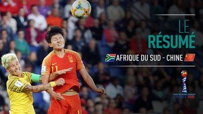 Afrique du Sud - Chine : Voir le résumé du match en vidéo